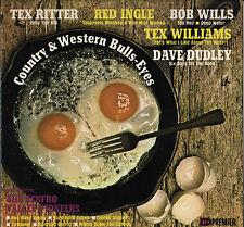 "BOB WILLS + RENFRO VALLEY PIONEERS ""COUNTRY & WESTERN BULLS-EYES"" LP"
