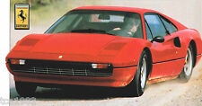 FERRARI 308 SPEC SHEET/Brochure/Pamphlet/Catalog:1977,