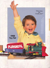 Playskool Toy Fair 1988 Catalog Plush Infant Preschool Puzzles Wooden Classics