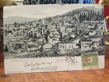 cpa smyrne turquie turkey turkish vue mont pagus tukiye postcard