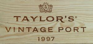 1997er Taylor Vintage Port - Simple Immense