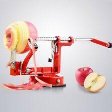 3 in 1 Apfelschäler Apfelschneider Apfelschälmaschine Einfach zu bedienen Rot
