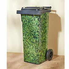 Mülltonnenaufkleber Efeu selbstklebend wasserfest Mülltonne Tonne 3 Teile