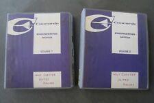 """2 manuels """"Engineering Notes"""" (Notices Techniques) du Concorde - Aérospatiale"""