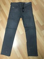 NWT Mens Diesel BUSTER Stretch Denim 0853T FADED Grey Slim W33 L32 H7 RRP£150.