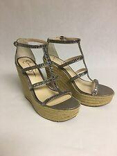 Jessica Simpson Women's Adelinn Platform Wedge Sandals US Shoe 9.5 Medium B,M