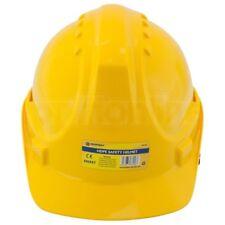 Yellow Safety Helmet Adjustable Construction Hard Hat Climbing Head Protector