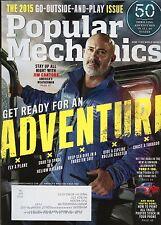 Popular Mechanics Magazine May 2015 Ford F-150 Hits The Road In Aluminum