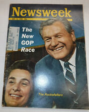 Newsweek Magazine The Rockefellers May 13, 1968 101816R