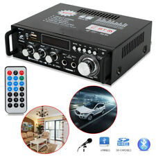 60W BT-298A HiFi Bluetooth Audioverstärker Bluetooth Verstärker LCD 2-Kanal Neu