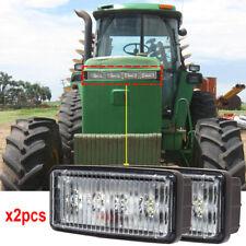 Re306510 Led Headlight For John Deere Front Hood Light 12v 24v Flood Sealed Beam