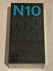 One Plus Nord N10 5G - 128GB -Midnight Ice Unlocked Smartphone SEALED SHIPS FAST