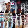 Fashion Women Leggings Christmas Snowflake fawn Trousers Pants Stretch Legging