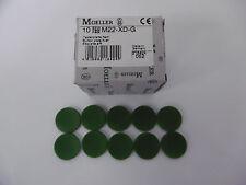 Eaton / Möller Tastenplatte flach grün M22-XD-G NEU OVP (VE 10)