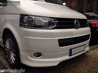 Splitter for VW T5 Transporter bus van Front Bumper spoiler lip Valance apron