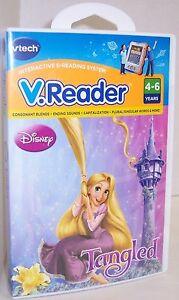 """NEW! V.Reader : Disney """"Tangled"""" : VTech : Ages 4-6 (80-281500) {2840}"""