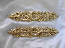 ORNATE DECORATIVE FURNITURE MIRROR OR PICTURE FRAME MOULDINGS ANTIQUE GOLD