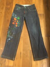 DC Comics L29 Collectible Painted Jeans size 32 x 30