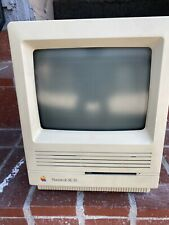VINTAGE APPLE MACINTOSH SE/30 COMPUTER W Custom Gig Bag And External Video Card