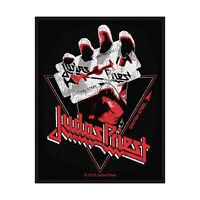 JUDAS PRIEST - BRITISH STEEL VINTAGE - WOVEN SEW ON PATCH - OFFICIAL