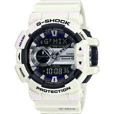 Casio G-Shock Mens Digital Wrist Watch GBA400-7C GBA-400-7C Bluetooth White Blac
