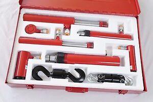 Hydraulic Pullback Ram kit inc Push Rams Body Repair Porta Power