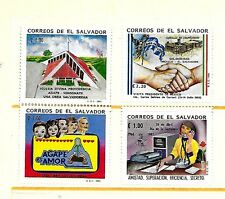 SALVADOR Sc 1344/1346-47 NH ISSUE OF 1993 - FEW SINGLES