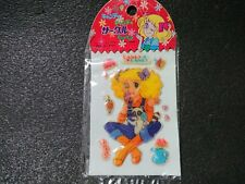 CANDY CANDY Circle Patch Seal Made in Japan Retro Old Rare Goods