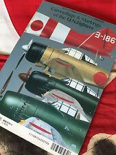CAMOUFLAGE & MARKINGS IJN FIGHTERS Mitsubishi ZERO More! Model Art 510 Book