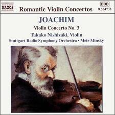 Joseph Joachim: Violin Concerto No. 3 (CD, Jul-2000, Naxos (Distributor))