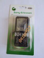 Gehäuse Sony-Ericsson K550 schwarz + Tastenfeld hochwertig