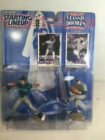 1997 Starting Lineup Classic Doubles Nolan Ryan And Randy Johnson Nice Card