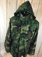 US Military Cold Weather Jacket Alpha Industries Nato Mens Medium