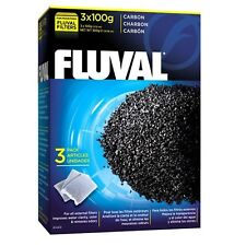 Fluval Carbon 3 x 100g Filter Media for Fluval Filters