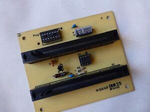 Wersi CBM25 VCF/Slide control board