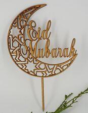 Eid Mubarak decoration cake topper EID Festival Bunting Muslim Decoration EA