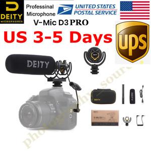 STOCK Deity V-Mic D3 Pro Broadcast Quality Super-Cardioid Shotgun Microphone