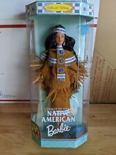 Mattel Native American Barbie Doll (Dolls of the World)(Fourth Edition)(New)