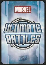 22 Marvel Ultimate Battles Cards + 1 Rare Wolverine Card