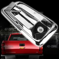 For 14-17 Silverado Chrome ABS Tailgate Handle Cover With Camera Cutout 3 PCS