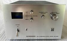 Pioneer QD-240 CD-4 Demodulator Discrete (4) Channel With ORIGINAL Power Cord!