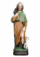Saint Roch resin statue cm. 30  - MADE IN ITALY-