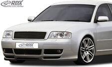 RDX Frontspoiler AUDI A6 4B C5 Facelift (01-04) Front Spoiler Lippe Vorne Ansatz