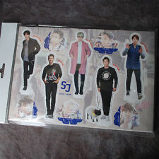 K-POP SUPER JUNIOR Photo Standing Paper Doll KPOP Star  Korean Gift !!!