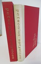 THE SATYRICON OF PETRONIUS, 1964 Limited Editions Club in Slipcase