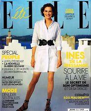 ELLE France 4 August INES DE LA FRESSANGE Jean Moreau DREW BARRYMORE @NEW@