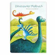 *ANNET RUDOLPH*Dinosaurier*Malbuch*DIN A4*Grätz-Verlag*