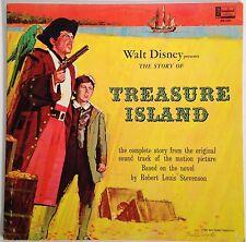 """Walt Disney presents """"Treasure Island"""" 1964 12"""" Original Soundtrack Recording"""