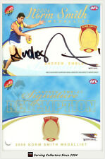 2007 Select AFL Supreme Cards Signature Redemption Card SR4 Andrew Embley