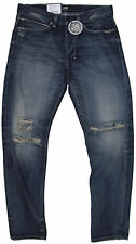 New Neuw Mens Jeans Studio Relaxed Work Selvedge Distressed Size W:29 L:23